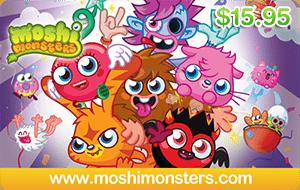 Moshi Monsters $15.95