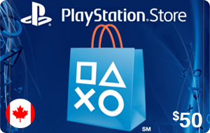 PlayStation Store $50 (CAD)