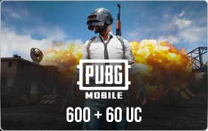 PUBG Mobile 660 UC