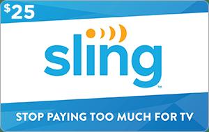 Sling TV $25