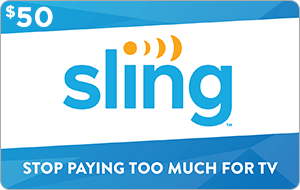 Sling TV $50