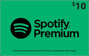 Spotify $10