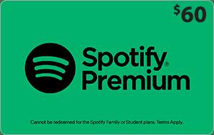 Spotify $60