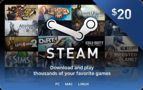 Steam $20