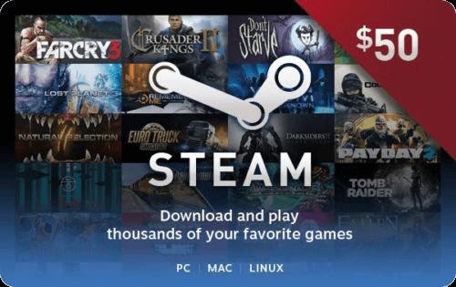 Steam $50