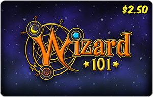 Kingsisle Wizard 101: 1,250 Crowns $2.50