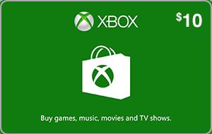 Xbox $10