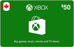 Xbox $50 (CAD)