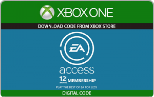 Xbox EA Access 12 Month Subscription